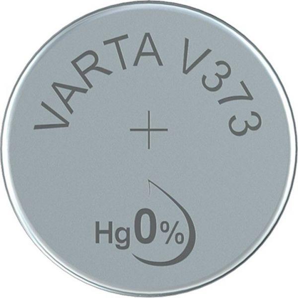 Silberoxid-Knopfzelle Typ SR68 / V373 von Varta